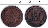 Изображение Монеты Вестфалия 2 сантима 1809 Медь XF