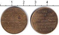 Изображение Монеты Франция жетон 0 Медь