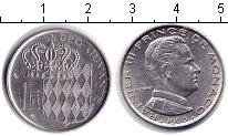 Изображение Мелочь Монако 1 франк 1960 Медно-никель XF
