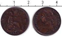 Изображение Монеты Великобритания 1 фартинг 1888 Медь XF Виктория