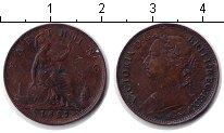 Изображение Монеты Великобритания 1 фартинг 1885 Медь XF Виктория