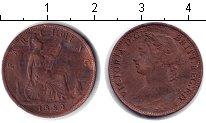 Изображение Монеты Великобритания 1 фартинг 1884 Медь VF Виктория