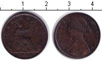 Изображение Монеты Великобритания 1 фартинг 1860 Медь VF Виктория