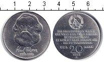 Изображение Монеты ГДР 20 марок 1983 Медно-никель UNC-