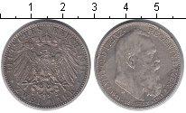 Изображение Монеты Бавария 2 марки 1911 Серебро VF Луитпольд