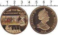 Изображение Мелочь Остров Святой Елены 25 пенсов 2013  Proof- Елизавета II. Войны