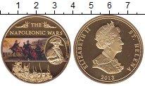 Изображение Монеты Остров Святой Елены 25 пенсов 2013 Позолота Proof