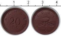 Изображение Монеты Саксония 20 пфеннигов 1921 Керамика UNC- нотгельд