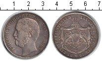 Изображение Монеты Баден 1 талер 1867 Серебро VF Фридрих