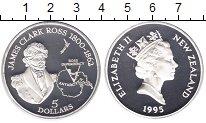 Изображение Монеты Новая Зеландия 5 долларов 1995 Серебро Proof-