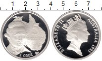 Изображение Монеты Австралия 5 долларов 1993 Серебро Proof- Елизавета II. Джеймс