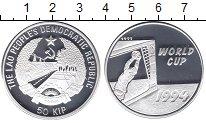 Изображение Монеты Лаос 50 кип 1994 Серебро Proof- Чемпионат мира США 9