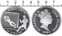 Изображение Монеты Острова Кука 10 долларов 1992 Серебро Proof-