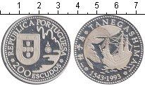Изображение Монеты Португалия 200 эскудо 1993 Серебро Proof- Танегашим