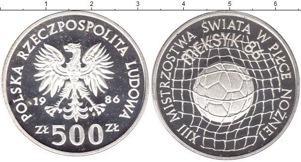 Картинка Монеты Польша 500 злотых Серебро 2005