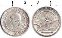 Изображение Монеты Сан-Марино 5 лир 1936 Серебро XF плуг
