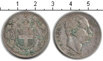 Изображение Монеты Италия 2 лиры 1887 Серебро VF Умберто I