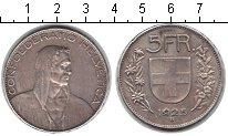 Изображение Монеты Швейцария 5 франков 1925 Серебро XF Вильгельм Тель