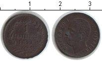 Изображение Монеты Италия 1 сентесимо 1899 Медь VF