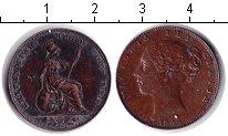 Изображение Монеты Великобритания 1 фартинг 1840 Медь VF Виктория