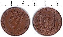 Изображение Монеты Остров Джерси 1/12 шиллинга 1947 Медь XF Георг VI