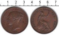 Изображение Монеты Великобритания 1 пенни 1858 Медь XF