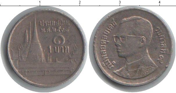 Картинка Монеты Таиланд 1 бат Медно-никель 0