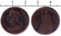 Изображение Монеты Великобритания 1 фартинг 0 Медь  Карл II