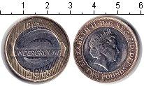 Изображение Мелочь Великобритания 2 фунта 2013 Биметалл UNC-