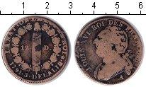 Изображение Монеты Франция 12 динерс 1791 Медь VF Луи XVI