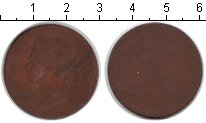 Изображение Монеты Великобритания 1/2 пенни 0 Медь