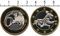 Изображение Мелочь Германия 6 секс евро 0 Биметалл UNC-