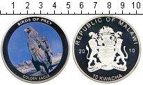 Изображение Мелочь Малави 10 квач 2010 Посеребрение Proof- Золотой орел
