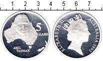 Изображение Монеты Австралия 5 долларов 1993 Серебро Proof- Елизавета II. Абель