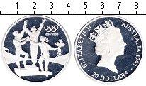 Изображение Монеты Австралия 20 долларов 1993 Серебро Proof- Елизавета II. вручен