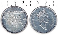 Изображение Монеты Канада 1 доллар 1992 Серебро XF Елизавета II.
