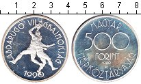 Изображение Монеты Венгрия 500 форинтов 1989 Серебро Proof- баскетбол