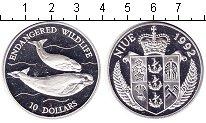 Изображение Монеты Ниуэ 10 долларов 1992 Серебро Proof- кит