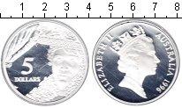 Изображение Монеты Австралия 5 долларов 1996 Серебро Proof- Елизавета II.