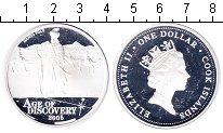 Изображение Монеты Острова Кука 1 доллар 2005 Серебро Proof- Елизавета II. Марко