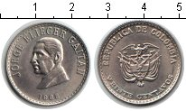 Изображение Мелочь Колумбия 20 сентаво 1965 Медно-никель UNC-