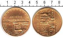 Изображение Монеты Финляндия 10 евро 2003 Серебро UNC- Андерс Кидениус