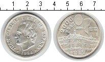Изображение Монеты Испания 2000 песет 1994 Серебро UNC-