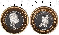 Изображение Монеты Фиджи 1 доллар 2000 Биметалл Proof