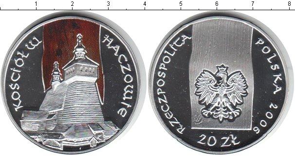 Картинка Монеты Польша 20 злотых Серебро 2006