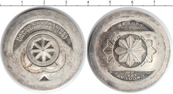 Картинка Монеты Уругвай 5.000 песо Серебро 1987