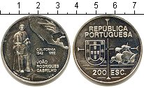 Изображение Монеты Португалия 200 эскудо 1992 Серебро UNC- Золотой век португал