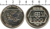 Изображение Монеты Португалия 200 эскудо 1991 Серебро UNC- Золотой век португал