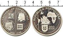 Изображение Монеты Португалия 200 эскудо 1994 Серебро UNC- Золотой век португал
