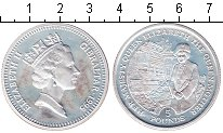 Изображение Монеты Гибралтар 5 фунтов 1995 Серебро Proof-